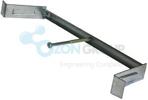Systemair CRS-MB-125 Mounting Bridge