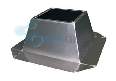 Systemair FDS 450/500 flat roof socket