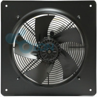 Вентилятор осевой YWF(K)6D-710-ZF (Axial fans) with plate