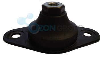 Systemair SD 710-1000 rubber mounts AXC
