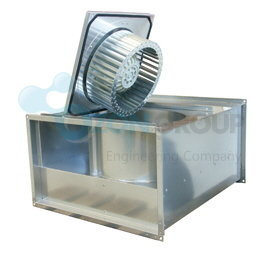 Systemair KT 60-35-4 Rectangular fan