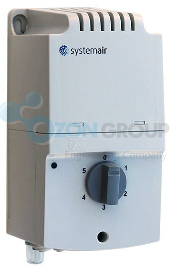 Systemair RE 3 Speed control