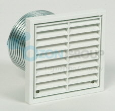 Systemair BVK 100 Wall vent kit